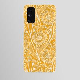 Saffron Coneflowers Android Case