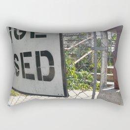 Bridge Out Rectangular Pillow