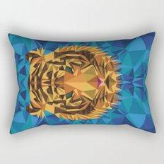 Liger Abstract - Its a Lion Tiger Hybrid Rectangular Pillow