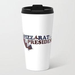 PizzaRat for President Travel Mug