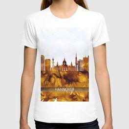 Hanover Germany Skyline T-shirt
