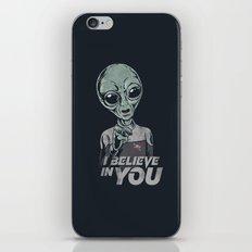i believe in you iPhone & iPod Skin