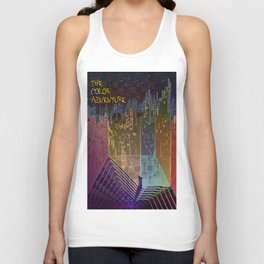 The Color Adventure in The Mistic Areas Unisex Tank Top