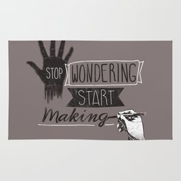 Stop Wondering Start Making Rug