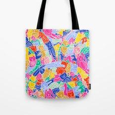 ANIMAL PUZZLE Tote Bag
