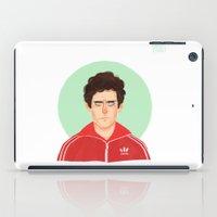 tenenbaum iPad Cases featuring Chas Tenenbaum by Galaxyspeaking