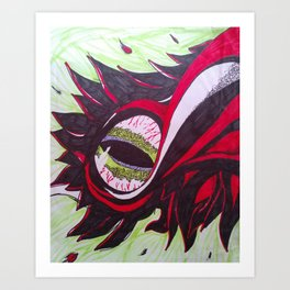 Dragon's Eye Art Print