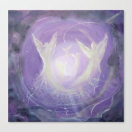 Angel Song Canvas Print