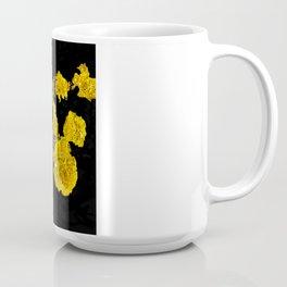 Yellow Lichen Coffee Mug
