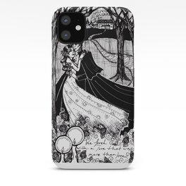 Cliche Gothic Romance iPhone Case