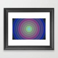 Circles design 01 Framed Art Print
