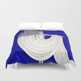 """North Sea"" Art Deco Design Duvet Cover"
