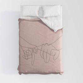 Blush Pinky Comforters