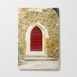 Red Door No. 2 Metal Print