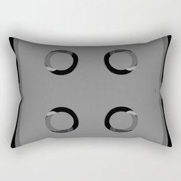 Shower Spray Nozzles (User's Perspective) Rectangular Pillow