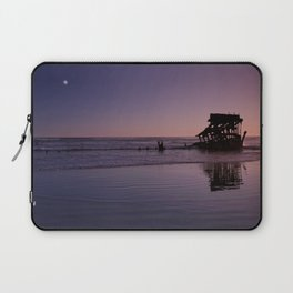Peter Iredale Shipwreck at Fort Stevens State Park, Oregon. 2 Laptop Sleeve