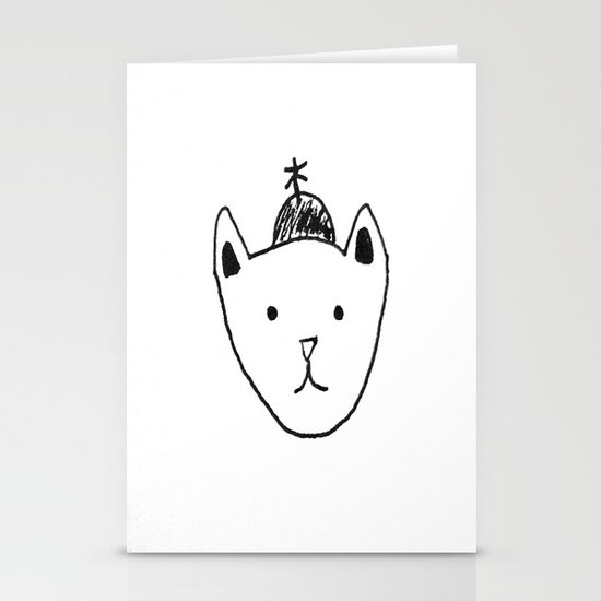 Being Fancy in a Hat Stationery Cards