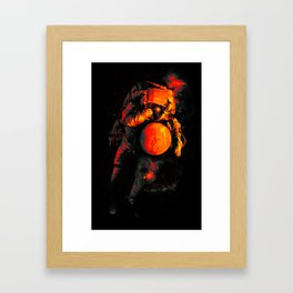It's a Small Worls After All (Mars) Framed Art Print