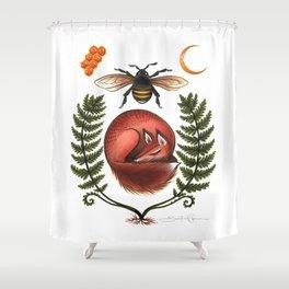 Honey Honey Shower Curtain