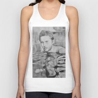 jared leto Tank Tops featuring Jared Leto on water  by Jenn