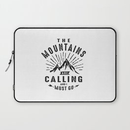 The Mountains Laptop Sleeve