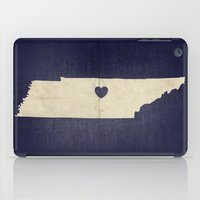 tennessee iPad Cases featuring Nashville, Tennessee by Fercute