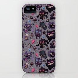 Ghostie-mons iPhone Case