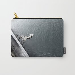 Into The Deep b&w Carry-All Pouch