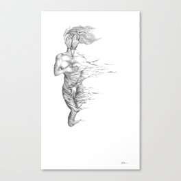 Insecurity: Unseen Canvas Print