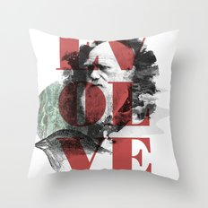 Darwinning Throw Pillow