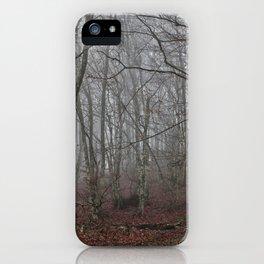 Dark forest. iPhone Case