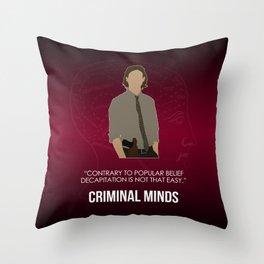 Criminal Minds - Reid Throw Pillow