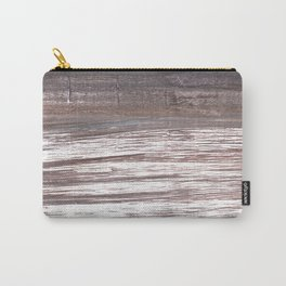 Deep Taupe abstract watercolor Carry-All Pouch