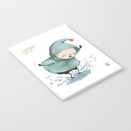 Goji welcomes the rain! Notebook