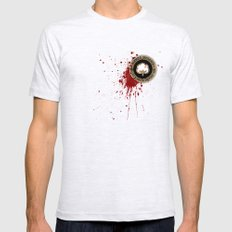 Minimal movie cover: Django Unchained Ash Grey Mens Fitted Tee LARGE