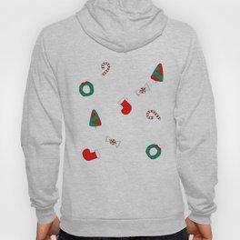 Winter Holiday Themed Illustration Merry Christmas! Hoody
