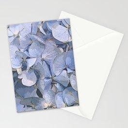Blue Hydrangeas Stationery Cards