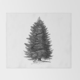 Blue spruce #society6 Throw Blanket