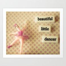 Beautiful Little Dancer Art Print