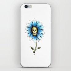 skull daisy iPhone & iPod Skin