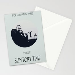 Suntory time Stationery Cards