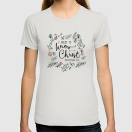 """""""I Want to Know Christ"""" Bible Verse - Color T-shirt"""