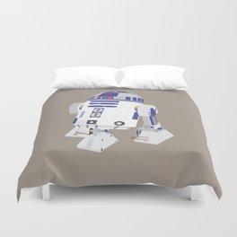 R2-D2 (Vector Art) Duvet Cover
