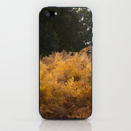 YELLOW FERN iPhone Skin