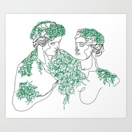 Overgrow Art Print