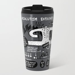 Absolutism Explained Travel Mug