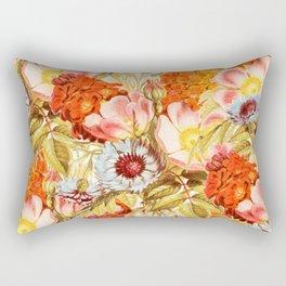 Coral Bloom #society6 #decor #buyart Rectangular Pillow
