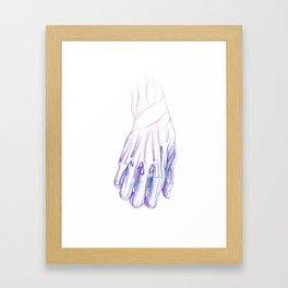 Hand Watercolor Framed Art Print