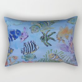 Pisces Society Rectangular Pillow