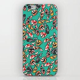 Aqua Koi iPhone Skin